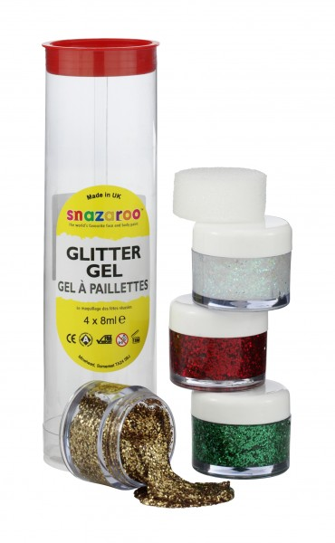 Snazaroo Glittergel Set B