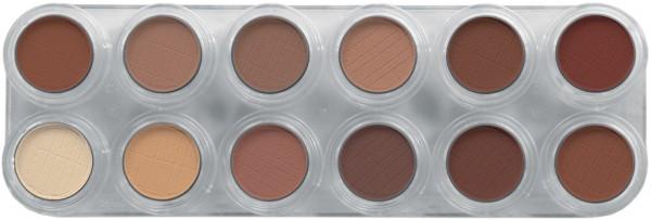 Grimas Eyeshadow - Rouge Palette 12 RZ - 12 x 2g