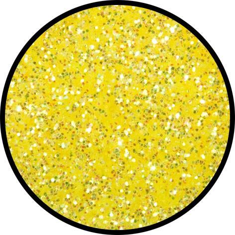 6 g Eulenspiegel Polyester Streu Glitzer Candy Yellow