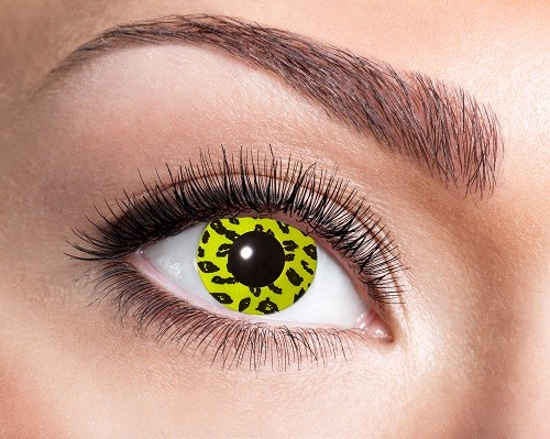 Eye Catcher Fantasy 12 Monatslinsen Yellow Leopard