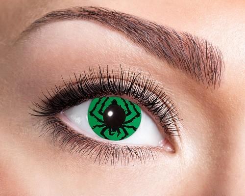 Eyecatcher Fantasy 12 Monatslinsen Green Spider