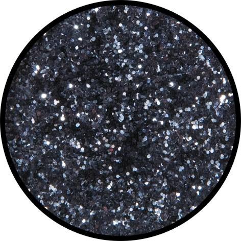12 g Eulenspiegel Polyester Streu Glitzer Gunmetal (Anthrazit)