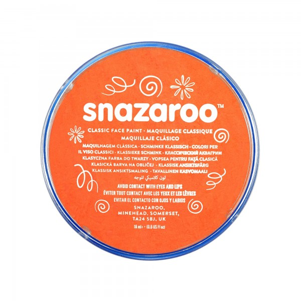 Snazaroo Schminkfarbe Orange 75 ml