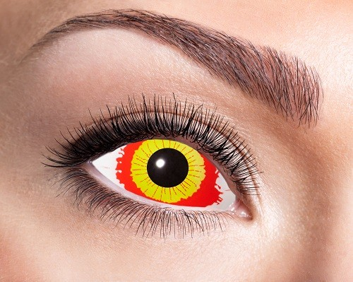 Eyecatcher Sclera 6 Monatslinsen Damaged Eye