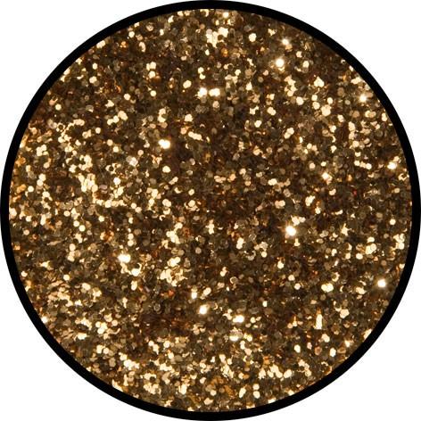 2 g Eulenspiegel Polyester Streu Glitzer Tigergold