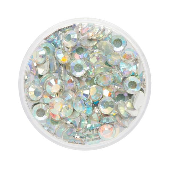 Eulenspiegel Glitzer-Steine Opal