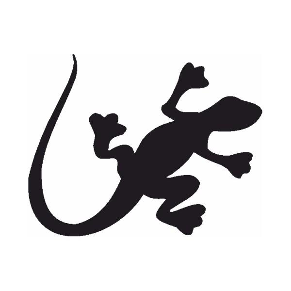 Selbstklebe Schablone Salamander Eulenspiegel