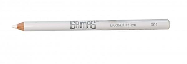 Grimas Make-up Stift Kajal 001 weiß