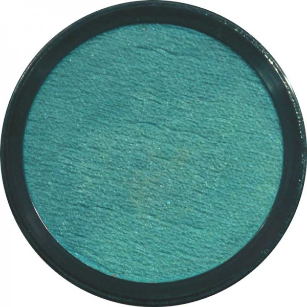 20 ml Profi Aqua Make Up Perlglanz Lagunenblau Eulenspiegel