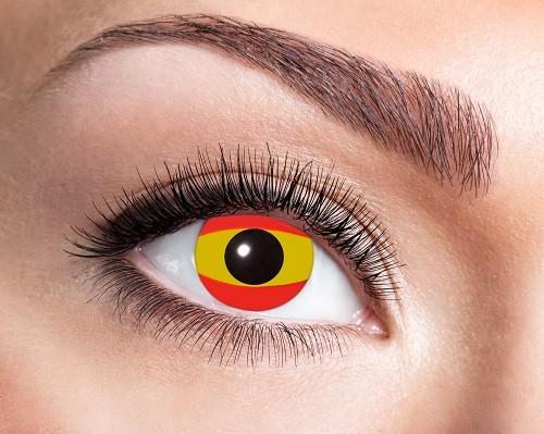 Eyecatcher Flaggen 12 Monatslinsen Spanien