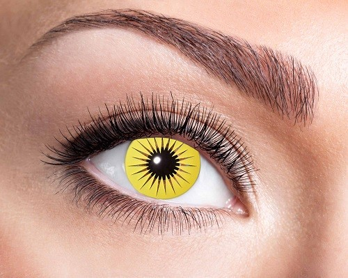 Eyecatcher Fantasy 12 Monatslinsen Yellow Star