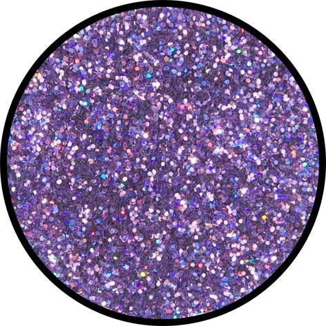 12 g Holographischer Streu Glitzer Lavendel Juwel