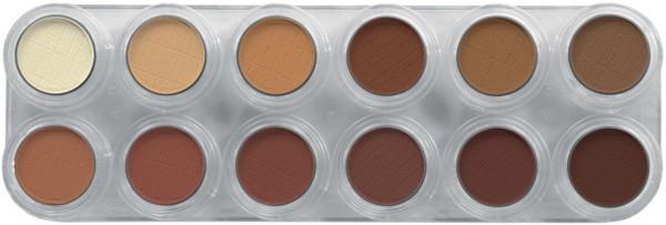 Grimas Eyeshadow - Rouge Palette 12 RH - 12 x 2g