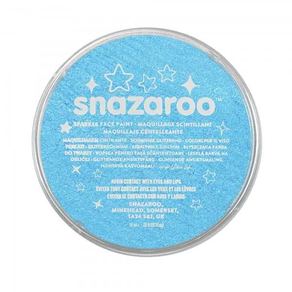 Snazaroo Schminkfarbe Schimmernd Türkis 18 ml