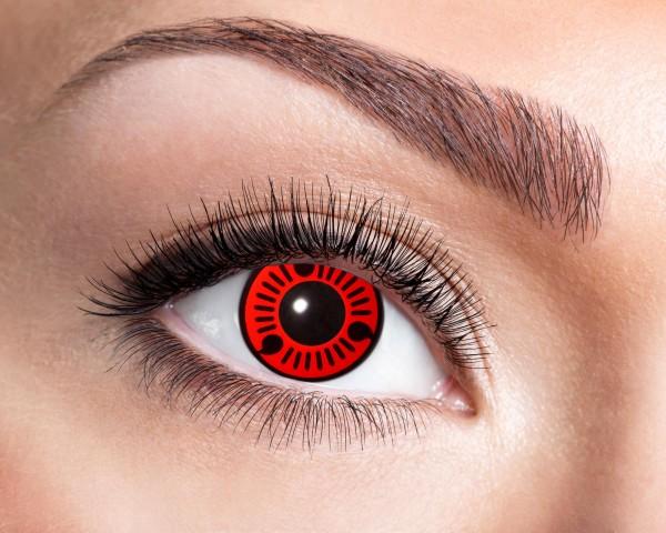 Eyecatcher Fantasy 3 Monatslinsen Red Itachi