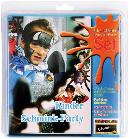 Eulenspiegel Schmink-Set Kinder Schmink-Party