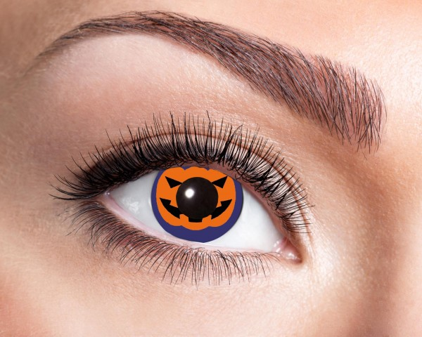 Eyecatcher Fantasy 12 Monatslinsen Pumpkin
