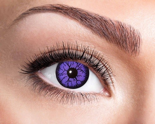 Eyecatcher Fantasy 3 Monatslinsen Purple Monster
