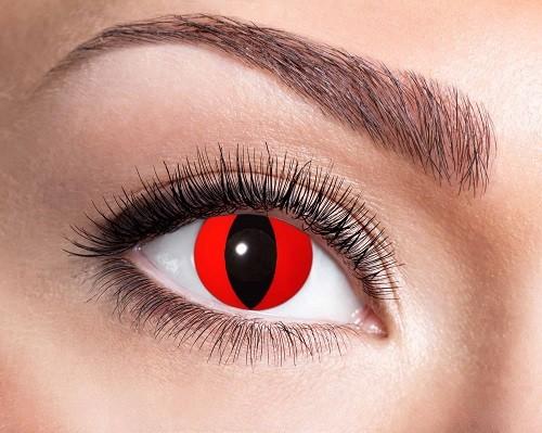 Eyecatcher Fantasy 12 Monatslinsen Red Cat