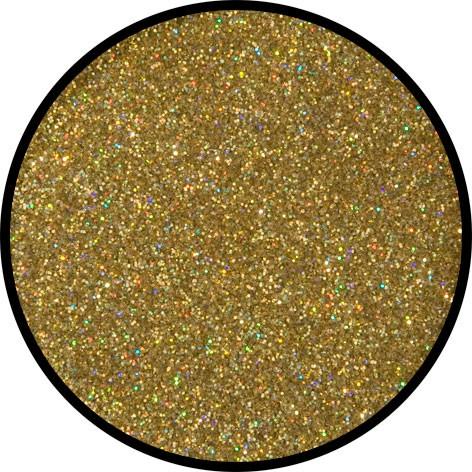 6 g Holographischer Streu Glitzer Gold Juwel Fein