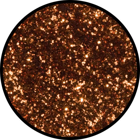 2 g Eulenspiegel Polyester Streu Glitzer Goldenorange
