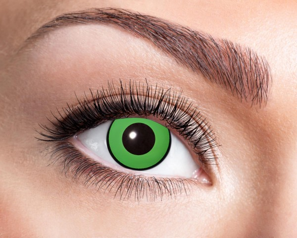 Eyecatcher Fantasy 12 Monatslinsen Green Eye