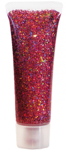 Eulenspiegel Glitzer Gel Pink Juwel