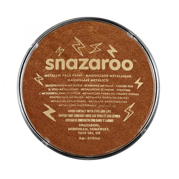 Snazaroo Schminkfarbe Metallic Kupfer 18 ml