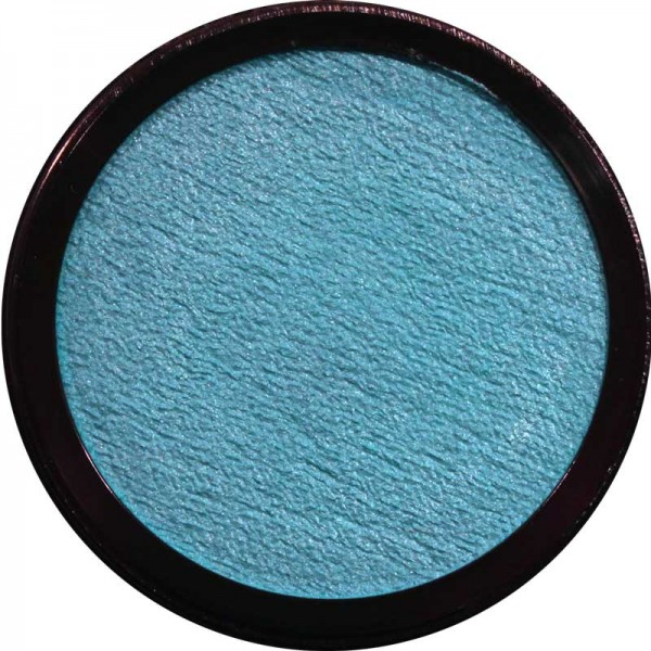 20 ml Profi Aqua Make Up Perlglanz Hellblau Eulenspiegel