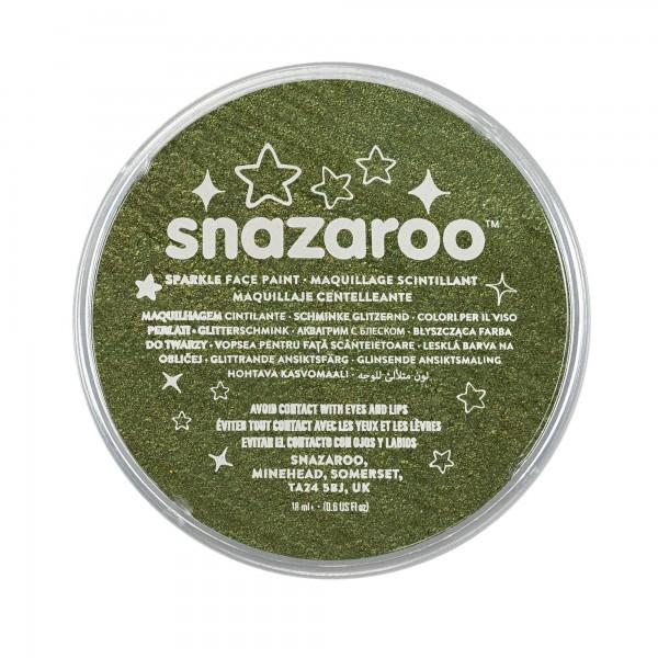 Snazaroo Schminkfarbe Schimmernd Grün 18 ml