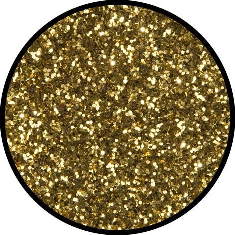 2 g Eulenspiegel Polyester Streu Glitzer Classicgold