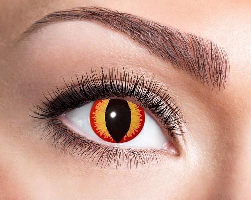 Eyecatcher Fantasy 12 Monatslinsen Saurons Eye