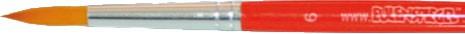 Eulenspiegel Rundpinsel Kunstfaser Größe 6