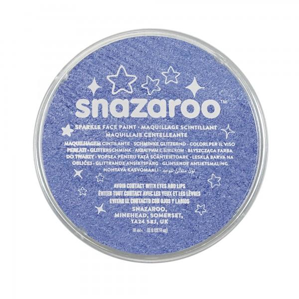 Snazaroo Schminkfarbe Schimmernd Blau 18 ml