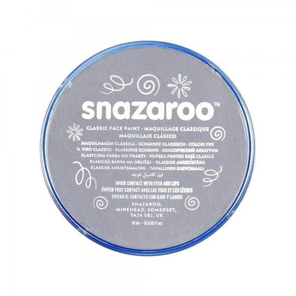 Snazaroo Schminkfarbe Dunkelgrau 18 ml