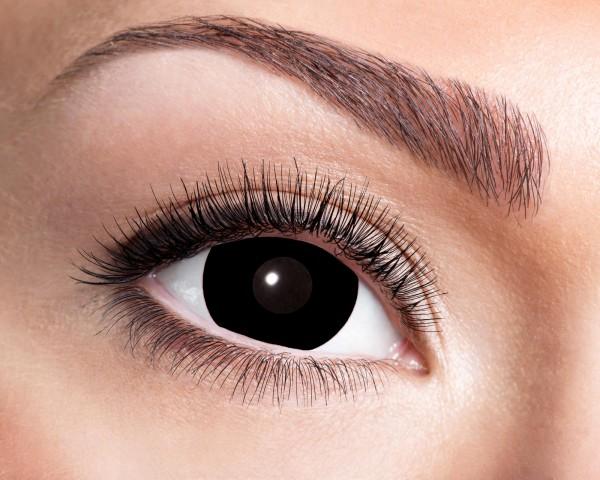Eyecatcher Mini Sclera 6 Monatslinsen Black Witch
