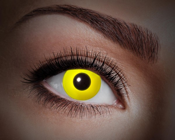 Eyecatcher UV Flash 1 Monatslinsen Flash yellow