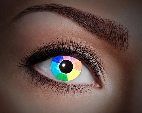 Eyecatcher UV 12 Monatslinsen Rainbow Diamond