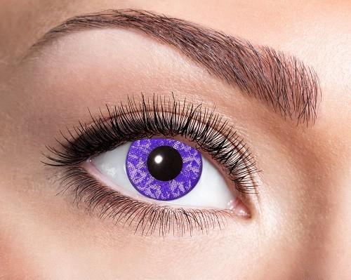 Eyecatcher UV 12 Monatslinsen Violet Diamond