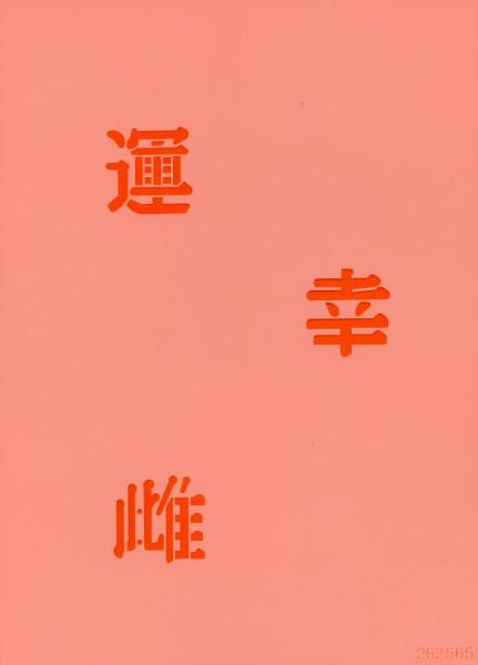 Airbrush Schablone Chinese Characters II Eulenspiegel