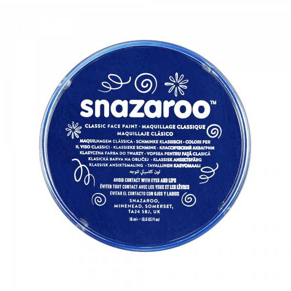 Snazaroo Schminkfarbe Dunkelblau 18 ml
