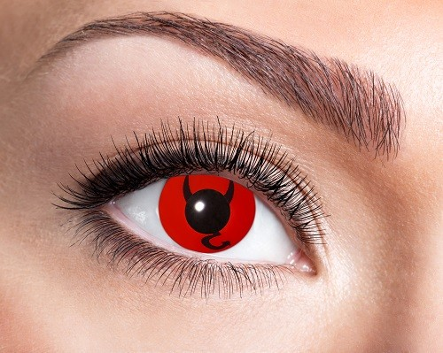 Eyecatcher Fantasy 12 Monatslinsen Devil