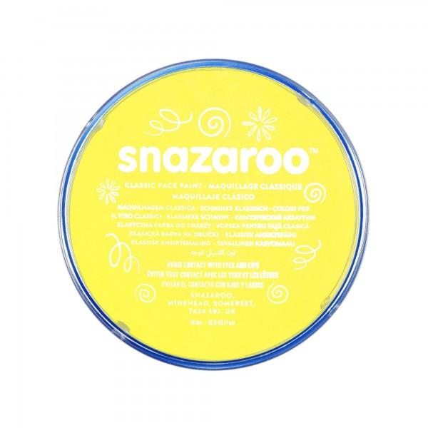 Snazaroo Schminkfarbe Blassgelb 18 ml