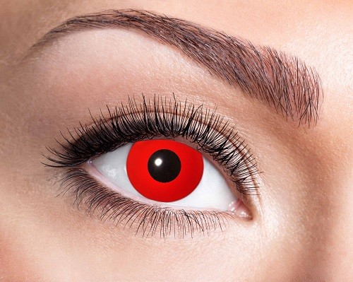 Eyecatcher Fantasy 12 Monatslinsen Red Devil