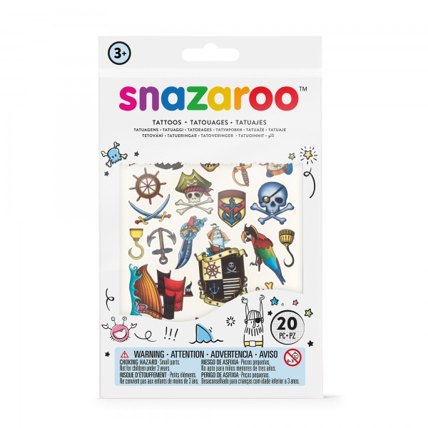 Snazaroo Tattoos Piraten