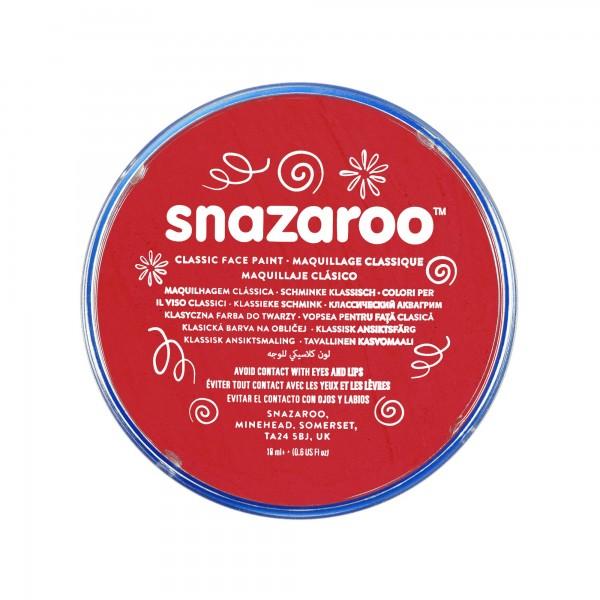 Snazaroo Schminkfarbe Leuchtendrot 75 ml