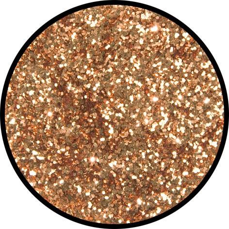 2 g Eulenspiegel Polyester Streu Glitzer Kupfer