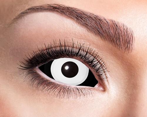 Eyecatcher Sclera 6 Monatslinsen Black ´n´ White