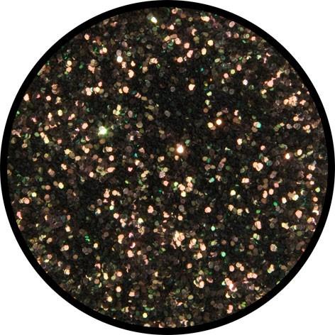12 g Eulenspiegel Polyester Streu Glitzer Salomon (Lachsfarben)