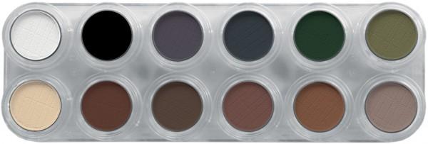 Grimas Eyeshadow - Rouge Palette 12 UX - 12 x 2g